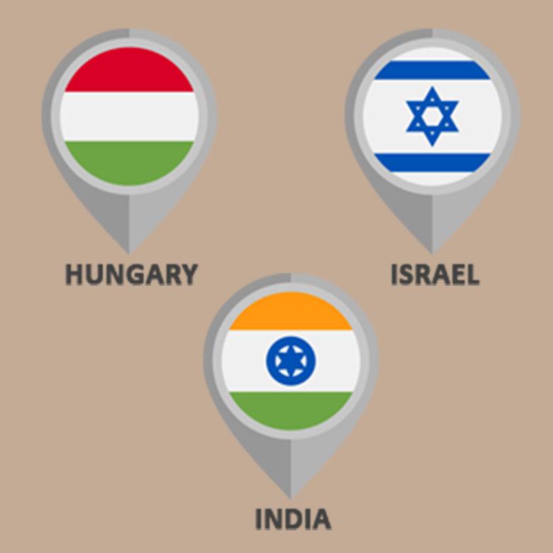 ouggaria-israil-india